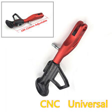 1Pcs Black / Red Adjustable 180-210MM Motorcycle Side Stand Non-slip Kickstand