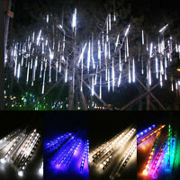 Meteor Shower Falling Rain Drop/Icicle Snow LED Xmas Tree String Lights Decor