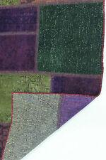 moderne Patchwork Délavé Used Look PERSAN TAPIS tapis d'Orient 2,33 x 163