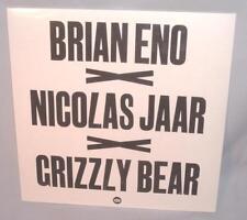 "LP BRIAN ENO NICOLAS JAAR GRIZZLY BEAR Lux 12"" SINGLE  RSD NEW MINT SEALED RARE!"