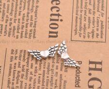 20Pcs Tibetan Silver Heart Angel Wings Loose Spacer Beads Jewelry 22X9MM E57