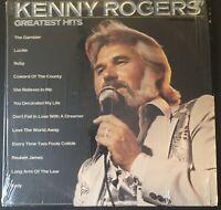 "KENNY ROGERS ~ GREATEST HITS ~ Gambler ~Lady ~ Coward ~ Lucille LP 12"" Vinyl VG+"