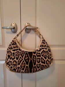 Authentic Yves Saint Laurent Women's Pony Hair Shoulder Handbag RRP 1450$.