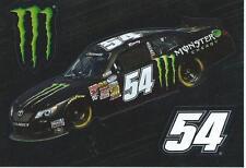 MONSTER ENERGY NASCAR PROMO STICKER KYLE BUSCH #54 - NASCAR PROMO STICKER