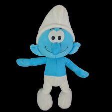The Smurfs Peyo Plush Stuffed Toy 2010 Blue & White By Nanco 13 Inches Tall