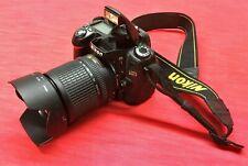 Nikon  D80 10.2 MP Digital SLR Camera w/ 18-135mm Lens ONLY 6678 CLICKS