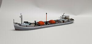 Diorama / Artitec / Artmaster / Schiff / Boot / Kahn / Tanker / 1:87