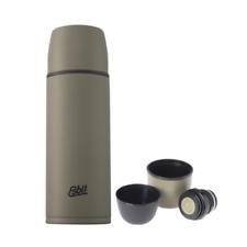 ESBIT Isolierflasche, Thermosflasche aus hochwertigem Edelstahl, 1 Liter Olive