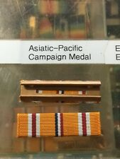 US Asiatic Pacific Campaign Service Medal Ribbon Slide On