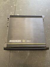 Kicker DX 500.1 - 400 Watt Class D Amplifier