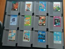 12 game NES nintendo lot! mario ikari warriors mafat milon's palamedes cybernoid