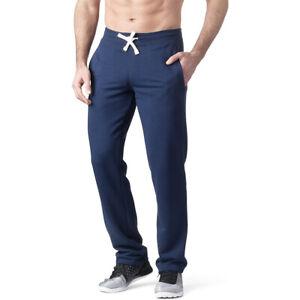 "34"" 36"" 38"" LEG EXTRA LONG Navy Blue Jogging Joggers Gym Bottoms Mens Big Tall"