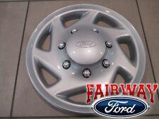 """98 thru 19 Econoline Van E250 E350 E450 OEM Ford Silver 16"""" Wheel Cap Cover SRW"""