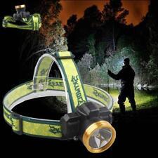 1200 Lumen Gree Q5 LED Linterna Antorcha linterna frontal recargable 3 modos BF