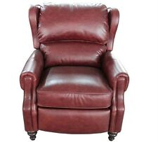 New Genuine Barcalounger Savannah Whiskey Lounger Leather Recliner Lounge Chair
