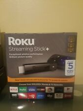 ROKU STREAMING STICK + 4K WITH VOICE REMOTE