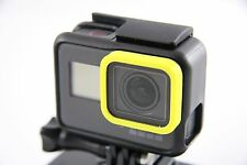GoPro HERO 5 - Ring Color Frame Protector Cover Zubehör Individual YELLOW