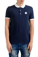 Versace Collection Men's Blue Short Sleeves Polo Shirt Sz S M L XL 2XL