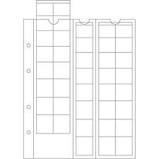 OPTIMA   5 feuilles numismatiques pour séries d'euros - Réf  308740
