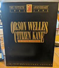 Citizen Kane 50th Anniversary Limited Collector's Edition Vhs Boxset- Pre Owned.