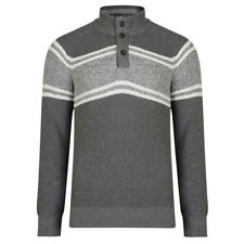 Marks and Spencer Men's Striped Medium Knit Jumpers & Cardigans