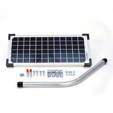 GTO FM123 - 10 Watts Solar Panel - LINEAR Solar Panel for Gate Openers