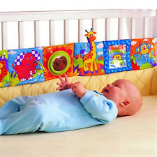 Newborn Baby Soft Color Cloth Book Intelligence Development Bed Educational Toys