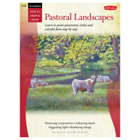 WALTER FOSTER / HACHETTE HT333 HOW TO DRAW PASTORAL LANDSCAPES