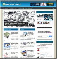 Make Money Online Ideas Wordpress Website Blog with Builtin Amazon Store