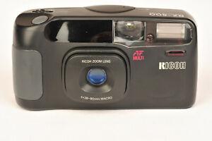 Ricoh RZ-800 35mm Compact Point & Shoot Film Camera 38-80mm & Macro