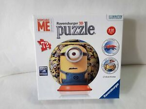 Ravensburger 3d Jigsaw Puzzle 72 Pieces Despicable Me Minions Age 6-10 Years