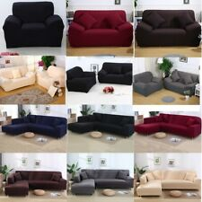 Elastic Sofa Cover Stretch Couch Slipcover Protector 1/2/3/4 Seater Settee Cover