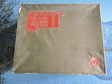 Large Vintage victoire contreplaqué Jigsaw Puzzle - 1000 Pièces-saphir beauté