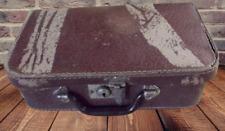 Ancienne Valise Coffret Carton chest Sac de voyage vanity 1940 Vintage 30 cm