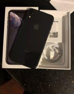 Apple iPhone XR - 128GB - Black (Unlocked) A1984 (CDMA + GSM)