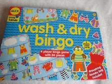 """Little Hands """"Wash & Dry Bingo"""" Game (Ages 3-5) Complete!"""