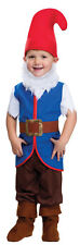 Boys Toddler Snow White Dwarf Fancy Dress Costume Outfit & Beard Age 2-3 NEW