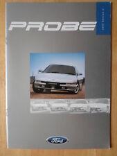 FORD PROBE 1996 UK Mkt prestige sales brochure - 16v 24v