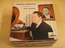 45T SINGLE / JOHNNY JORDAAN ZINGT LIEDJES VAN WILLY DERBY
