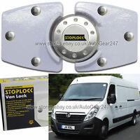 Blanco Stoplock Vauxhall Opel Movano Alta Seguridad Antirrobo