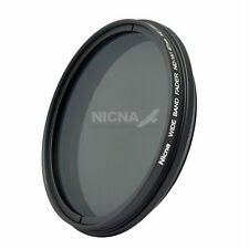 Nicna 55mm Fader ND Neutrial Density Filter  Variable ND2 to ND400 Adjustable 55