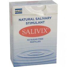 Salivix Salival Estimulante Seco Boca alivio pastillas 50 Sin azúcar Pastillas