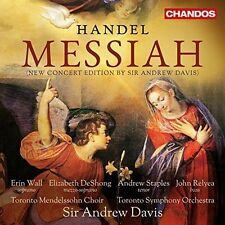 HANDEL:MESSIAH NEW CD