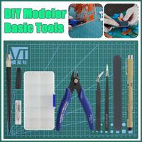 8Pcs Fai da Te Modeler Basic Strumenti Set Craft Hobby Costruzione per Gundam