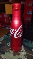 coca cola aluminum bottle USA full