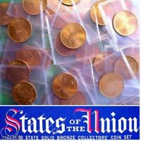 VIRGINIA - Beautiful Solid Bronze State Coin, Uncirculated