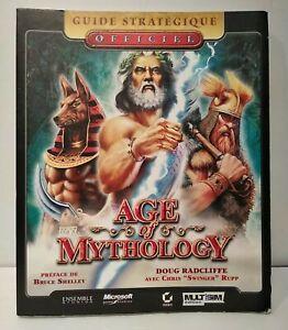 Age Of Mythology Guide Stratégique Officiel - Français - Bon état