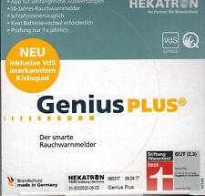 Rauchmelder Hekatron Genius Plus KP, 10-Jahres Batterie, Auswerte-APP,