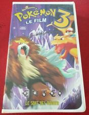 VHS French Movie Pokémon 3 Le Film ! Warner Bros Pictures