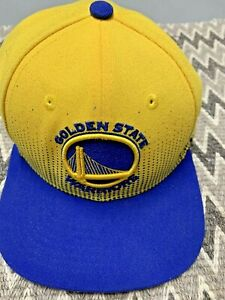 GOLDEN STATE WARRIORS NBA YOUTH HAT CAP YELLOW NEW ERA 9FIFTY ADJUSTABLE CURRY
